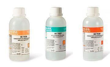 líquido calibrador de pH
